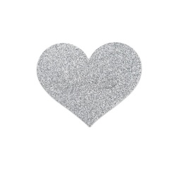 Bijoux Pezoneras Flash Heart Silver