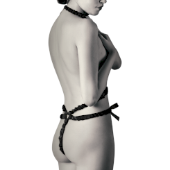 Coquette Elastic Harness Set And Nipple...