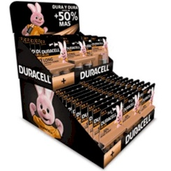 Duracell Plus Cardboard Display With...