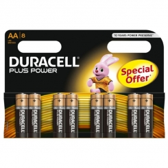 Duracell Plus Power Battery Aa Lr6 ...