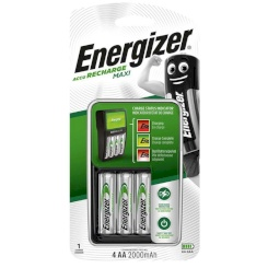 Energizer Aa Batteries Charger + 4...