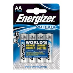 Energizer Ultimate Lithium Aa L91 Lr6...