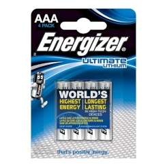 Energizer Ultimate Lithium  Aaa L92...