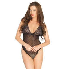 Leg Avenue Point D'esprit Teddy One Size