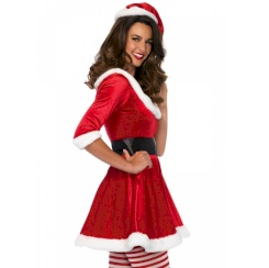 Leg Avenue Santa Claus 3pcs Set