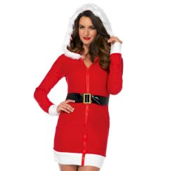 Leg Avenue Santa Claus Sexy Dress Size S
