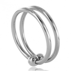 Metalhard Double Glans Ring 32mm