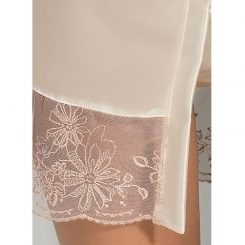 Passion Lotus Peignoir Cream Xxl /xxxl