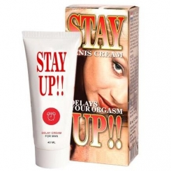 Stay Up 40ml Erection Enhancer Cream